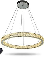 Dimmable led anel luz de teto luzes pingente lustres modernos iluminação lâmpada interior com controle remoto