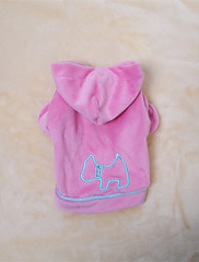 Pes Kabáty Oblečení pro psy cosplay Jednolitý Růžová Světle modrá