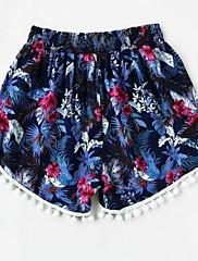 Ženske Slim Seksi Visoki struk Mikroelastično Kratke hlače Hlače Print