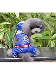 Hund Frakker Hundetøj Afslappet/Hverdag Britisk Blå