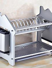 1 キッチン ステンレス鋼 フラットウェアオーガナイザ