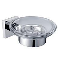 Držák na mýdlo misky, mosaz chrom, koupelna příslušenství (0640-3203)