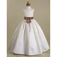 DREAMA - kjole til blomsterpige i satin