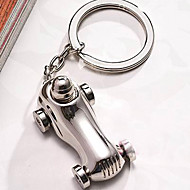 Chroom Keychain Favors Stuk / Set Sleutelhangers Tuin Thema Zilver
