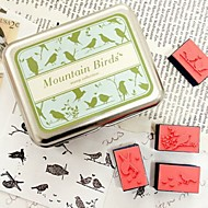 mountian fugler DIY Craft stempel sett