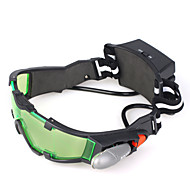 nachtkijker met LED-verlichting groen getint lens met geëtste grafische
