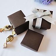 초콜릿 스퀘어 유리 상자 (24 세트)