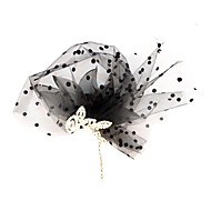Chiffon Vrouwen Helm Bruiloft/Speciale gelegenheden/Casual/Outdoor Bloemen/Fascinators Bruiloft/Speciale gelegenheden/Casual/Outdoor