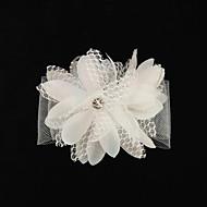 Tule/zijde Vrouwen Helm Bruiloft/Speciale gelegenheden Bloemen Bruiloft/Speciale gelegenheden