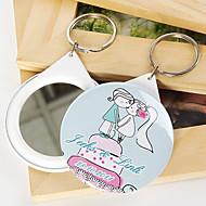 personlig spegel nyckelring - Kysser (sats om 12)