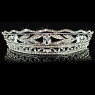 Women's/Flower Girl's Alloy/Cubic Zirconia Headpiece - Wedding/Special Occasion/Casual Tiaras