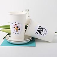 vaso de papel personalizado - un conjunto de 20 (los diseños más)