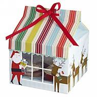 boîte de Santa Claus gâteau (jeu de 12)