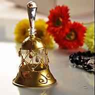 Hochzeit Dekor im europäischen Stil gold bell - mittlerer Größe