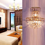WOONSOCKET - Lampe Murale Cristal - 1 slot à ampoule