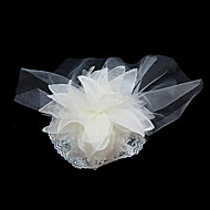 Fleurs/Coiffure Casque Mariage/Occasion spéciale Satin/Tulle Femme Mariage/Occasion spéciale