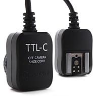 E-TTL FLASH Off Camera Cord for Canon 430EX, 580EX II and 380EX (Black)