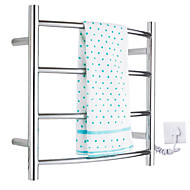 40W Arc Wall Mount Circular Tube Towel Warmmer Drying Rack