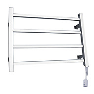 40W Elegance Wall Mount Square Pipe Towel Warmmer Drying Rack