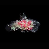 chic kukka häät morsiamen päähine