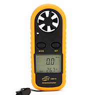 GM816 Anemometer Windmesser mit Thermometer