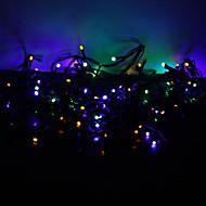 10m 100-led barevné světlo 8-Mode LED víla řetězec lampu Vánoce (220v)