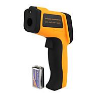 Není k dispozici termometry Automatický LCD displek Měření ve stupních Celsia a Fahrenheita Baterie