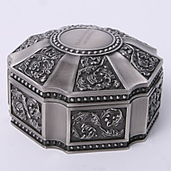 Gifts Bridesmaid Gift Personalized Vintage Tutania Hexagon Jewelry Box