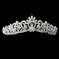 Alloy With Rhinestone And Pearl Fantastic Bridal Tiara