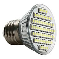 Lâmpada de Foco LED Branco Natural E27 60-3528 SMD 3-3.5W 6000-6500K (230V)