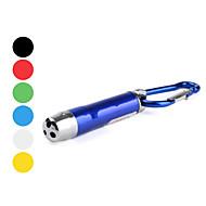 Iluminação Chaveiros com Lanterna / Lasers Liga de Aluminio