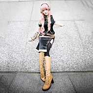 Inspired by Vocaloid Megurine Luka Video Game Cosplay Costumes Cosplay Suits SleevelessCoat / Breastplate / Dress / Sleeve / Armlet /