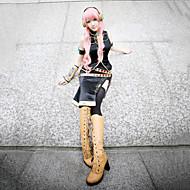 Inspirado por Vocaloid Megurine Luka Vídeo Juego Disfraces de cosplay Trajes Cosplay Sin MangasAbrigo / Peto / Vestido / Manga /