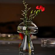 taulukko centerpieces sienen muotoinen lasinen maljakko pöytä deocrations