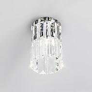 40W Crystal Flush Mount Light in Round