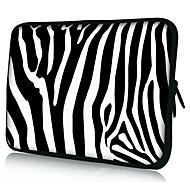 "neoprene zebra listra caso manga laptop para 10 ""11"" 13 ""15"" macbook ipad dell hp acer samsung"
