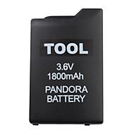 PSP unbricker batteri til PSP 1000 (1800mAh, 3.6V)