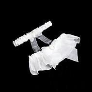 2-pieza de gasa / raso / organza con ligas de boda Rhinestones / cintas