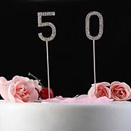 toppers gâteau brillants strass gâteau nunmer topper (longueur 12cm bâton)