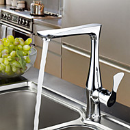 Sprinkle® Kitchen Faucets  ,  Transitional  with  Chrome Single Handle One Hole  ,  Feature  for Centerset