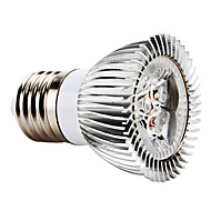 3W E26/E27 LED bodovky MR16 3 High Power LED 270 lm Červená AC 85-265 V