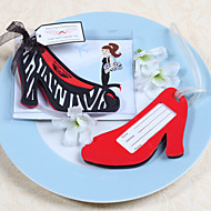 High Heel Shoes Shaped Luggage Tag Wedding Favor