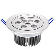 9x1W 945LM 3000-3500K lâmpada do teto Warm White LED (220V)