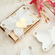 porcelana recuerdos mariposa dulce plato