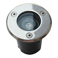 vodotěsné 1w 85lm 3000-3500K teplá bílá světla vedl povodňových lampy (110-240V)