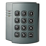 EMリーダー(1000ユーザー容量)を内蔵したスタンドアロンのAccess Controllerのプラスチック