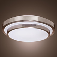 White Flush Mount in Round Shape