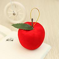 Big Red Apple Décorations de Noël (Ensemble de 6)