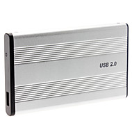 "2.5 ""alluminum usb 2.0 ide caso enclosure disco rigido esterno"