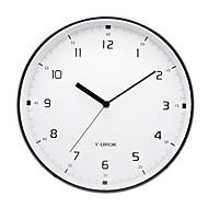 """11.5 """"h κομψό ρολόι τοίχου από μέταλλο 9021"""